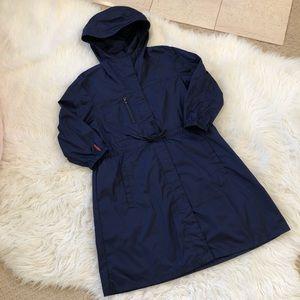 💘 NWOT💘 PRADA SPORT navy rain jacket ~ 38